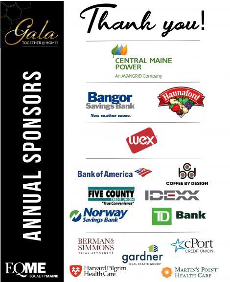 Gala Annual Sponsors 2020