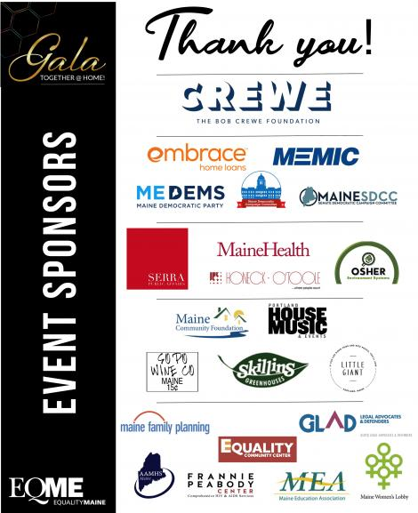 Gala Annual Event Sponsors 2020